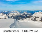 a wintertime view from mt.... | Shutterstock . vector #1133795261