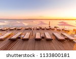 syracuse  isle of sicily  italy.... | Shutterstock . vector #1133800181