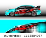 car decal graphic vector  wrap...   Shutterstock .eps vector #1133804087