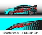 car decal graphic vector  wrap...   Shutterstock .eps vector #1133804234