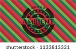 ambient christmas colors style... | Shutterstock .eps vector #1133813321