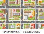 vector illustration. city top...   Shutterstock .eps vector #1133829587