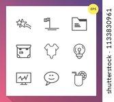 modern  simple vector icon set...   Shutterstock .eps vector #1133830961