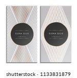 elegant luxury background with... | Shutterstock .eps vector #1133831879