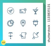 modern  simple vector icon set... | Shutterstock .eps vector #1133835131
