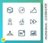 modern  simple vector icon set... | Shutterstock .eps vector #1133841959