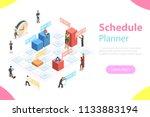flat isometric concept of...   Shutterstock . vector #1133883194