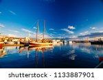 husavik  iceland   august 17 ... | Shutterstock . vector #1133887901