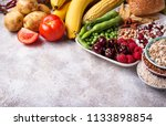 products sources of... | Shutterstock . vector #1133898854
