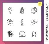 modern  simple vector icon set...   Shutterstock .eps vector #1133919374