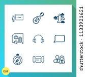modern  simple vector icon set... | Shutterstock .eps vector #1133921621