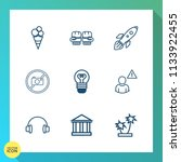 modern  simple vector icon set... | Shutterstock .eps vector #1133922455
