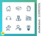 modern  simple vector icon set... | Shutterstock .eps vector #1133923151