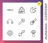 modern  simple vector icon set...   Shutterstock .eps vector #1133923364