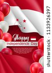 happy indonesian independence... | Shutterstock .eps vector #1133926397