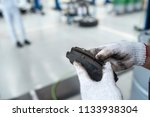 changing brake pads | Shutterstock . vector #1133938304