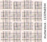 criss cross weave hand drawn... | Shutterstock .eps vector #1133968544
