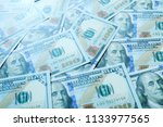 dollar bills or banknotes for... | Shutterstock . vector #1133977565
