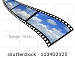 cloud and sky background on... | Shutterstock . vector #113402125