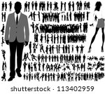 business people | Shutterstock .eps vector #113402959