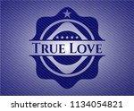 true love emblem with jean high ...   Shutterstock .eps vector #1134054821