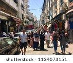 algiers  algeria   jul 14  2018 ... | Shutterstock . vector #1134073151