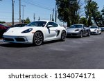 indianapolis   circa july 2018  ... | Shutterstock . vector #1134074171