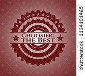 choosing the best retro red...   Shutterstock .eps vector #1134101465