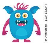 a famous moshi monster...   Shutterstock .eps vector #1134132347