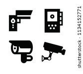 filled technology icon set such ... | Shutterstock .eps vector #1134152771