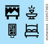 filled buildings icon set such... | Shutterstock .eps vector #1134171821