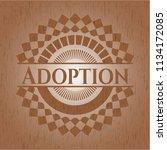 adoption wood signboards | Shutterstock .eps vector #1134172085