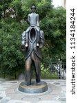 prague  czech republic   july 2 ...   Shutterstock . vector #1134184244