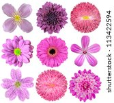 Collection Of Various Pink ...