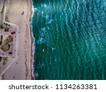 beach scenery during the day | Shutterstock . vector #1134263381