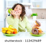 Diet. Dieting Concept. Healthy...
