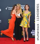 Small photo of LOS ANGELES, CA - July 14, 2018: Scout Willis, Rumer Willis & Tallulah Willis at the Comedy Central Roast of Bruce Willis at the Hollywood Palladium