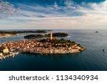 beautiful rovinj city   hdr... | Shutterstock . vector #1134340934