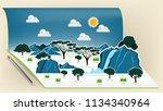 illustration vector design... | Shutterstock .eps vector #1134340964