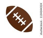 american football icon vector... | Shutterstock .eps vector #1134344324