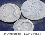 Us Coins Of A Quarter Dollar ...