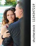 in love couple outdoor portrait | Shutterstock . vector #1134347219