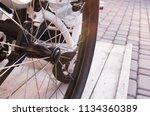 injury. paralysis.... | Shutterstock . vector #1134360389