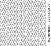 geometric pattern background | Shutterstock .eps vector #1134373604