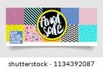 sale sticker or cover  banner... | Shutterstock .eps vector #1134392087