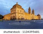 Mafra Portugal  National Palace ...