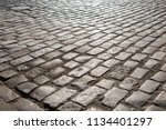 the road made of stones | Shutterstock . vector #1134401297