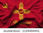 albuquerque new mexico 3d...   Shutterstock . vector #1134404441
