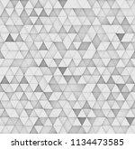 modern abstract geometric... | Shutterstock . vector #1134473585