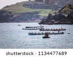 castro urdiales  spain   july... | Shutterstock . vector #1134477689